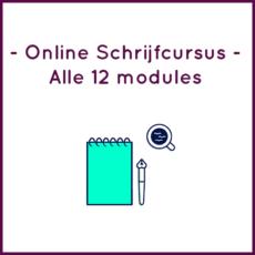 Alle 12 modules - Schrijfprogramma