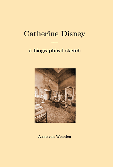 Catherine Disney : a biographical sketch