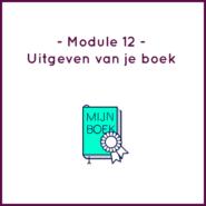 Module 12 - Uitgeven van je boek