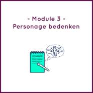 Module 3 - Personage bedenken