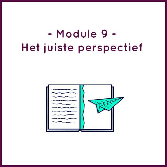 Module 9 – Het juiste perspectief